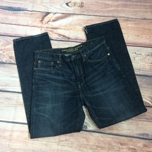 American Eagle Relaxed Straight Jeans Size 32 x 32